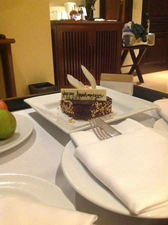 Movenpick Resort & Spa Karon Beach Phuket: Небольшой комплимент