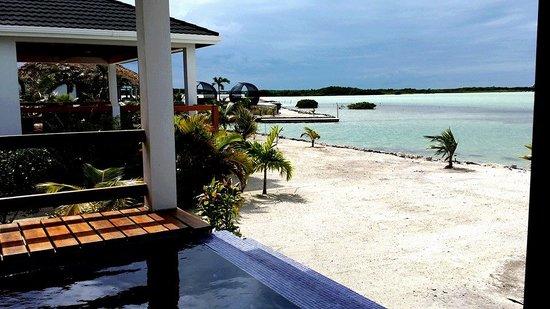 Mayan Islands Resort : View from a villa deck