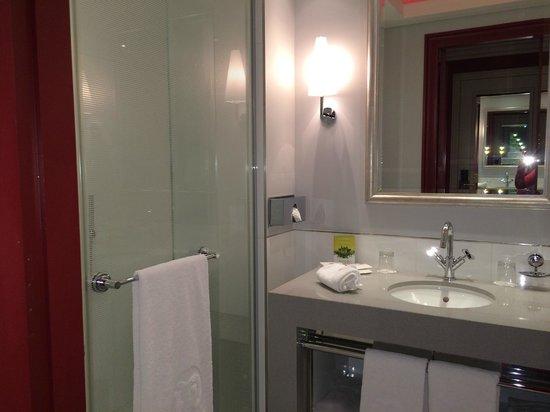 Hotel de Paris: Shower cubicle