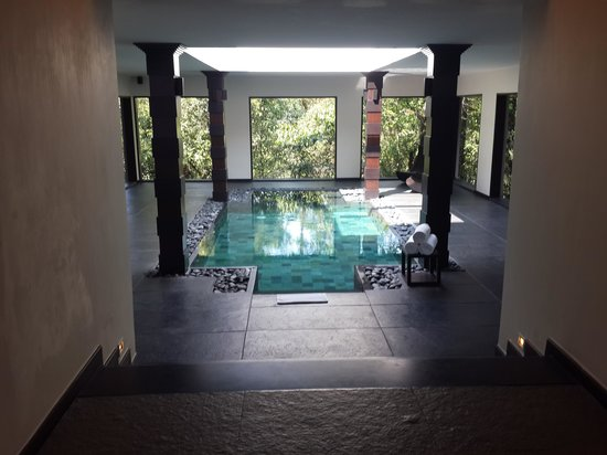 Luxury bliss villa with indoor pool picture of vivanta - Resorts in madikeri with swimming pool ...