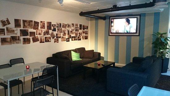 Stockholm Hostel: 休憩區沙發