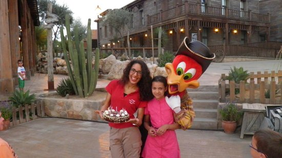 PortAventura Hotel Gold River : ДР ребенка