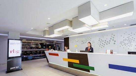 Park Inn by Radisson Hotel Astana: Ресепшн