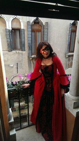 Ca' Bonvicini : the balcony