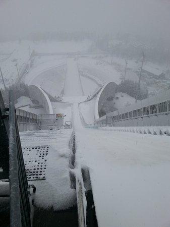 Musée du ski de Holmenkollbakken : Chocks Away!