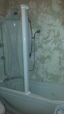 Foscari Palace : baignoire douche