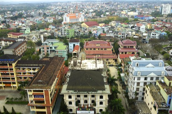 Indochine Palace: view from 8th floor