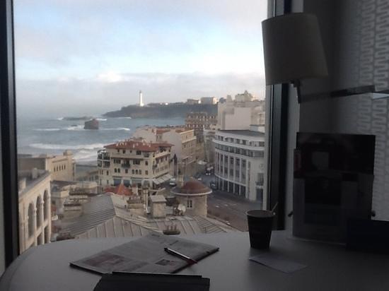 Mercure Le President Biarritz Centre : chambre au 9 eme