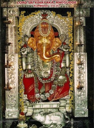 Udupi, India: Ganesha