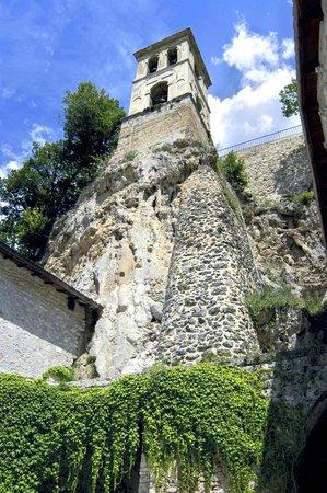 Abbazia di S. Eutizio: Torre campanaria dell'Abbazia di Sant'Eutizio