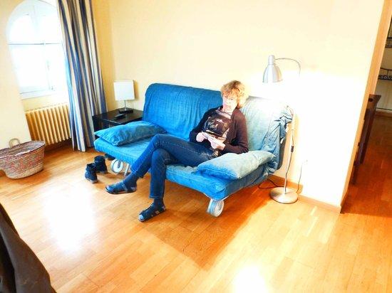 Apartamentos - Suites Santa Cruz: our room