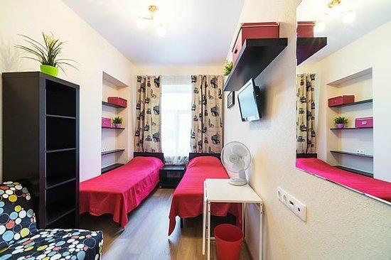 Hostel Mini Mani : 3-ех местный номер