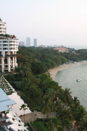 Royal Cliff Beach Hotel : View from the suite