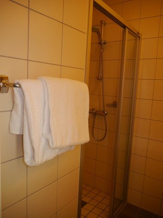 Gardermoen Airport Hotel: Shower Area