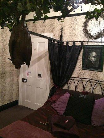 Bats and Broomsticks: Dracula room