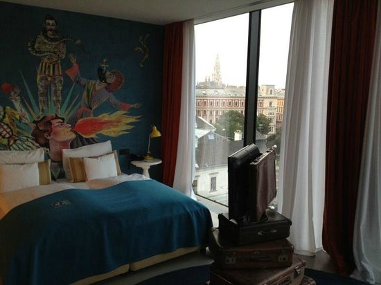 25hours Hotel at MuseumsQuartier: Panorama Suite