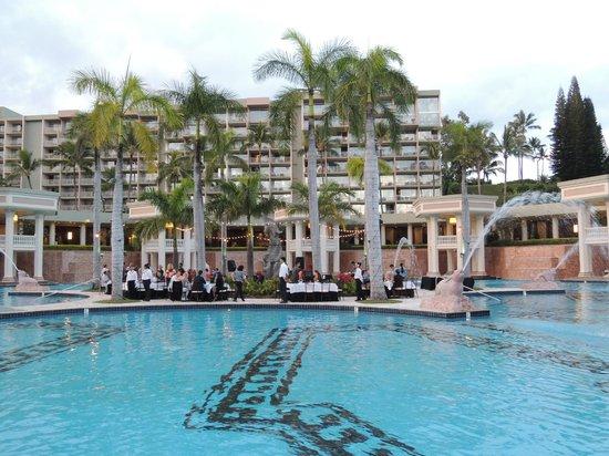 Marriott's Kaua'i Beach Club: Pool party