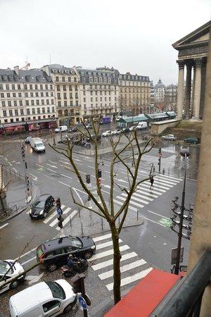 Hotel Madeleine Plaza: Vista de la Place de la Madeleine