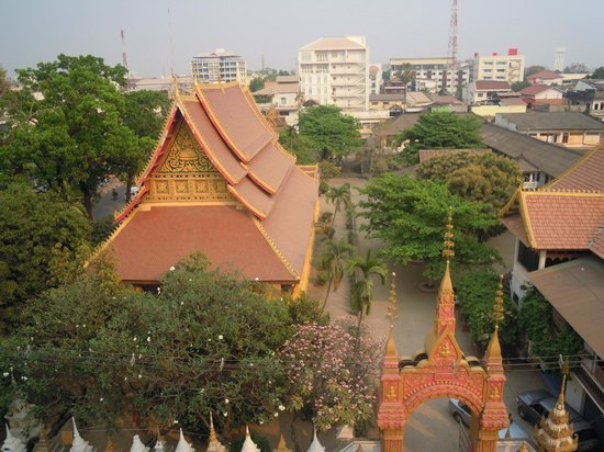 Mixay Paradise: View over Wat Mixay