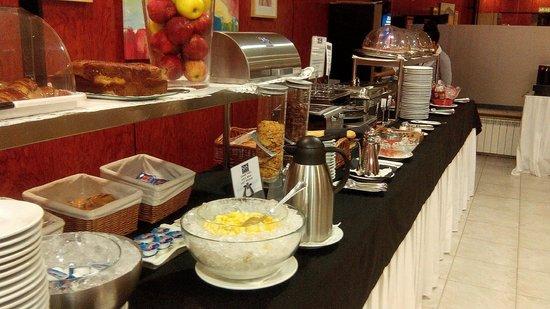SHS Hotel Aeropuerto: Desayuno Buffet