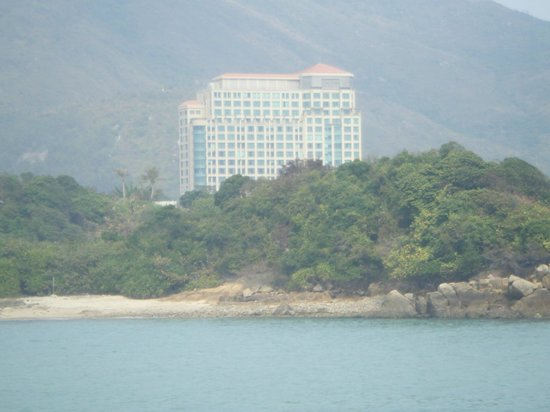 Auberge Discovery Bay Hong Kong : Hotel from Ferry to HK