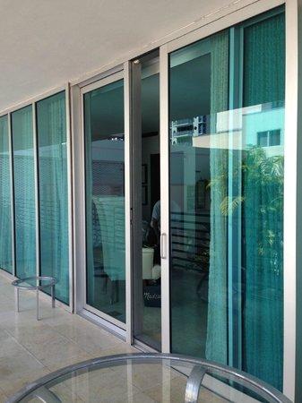 Z Ocean Hotel South Beach : terrasse