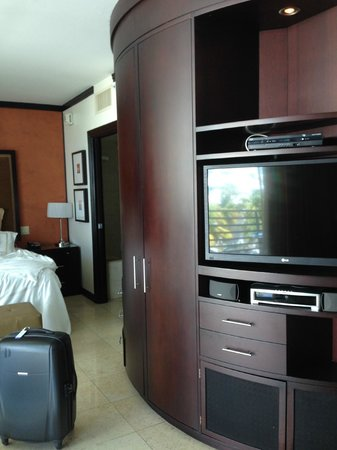 Z Ocean Hotel South Beach : un des deux coins tv