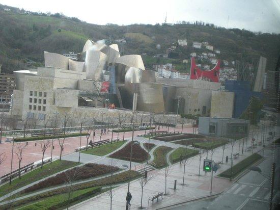 Hotel Miro : Guggenheim depuis la chambre