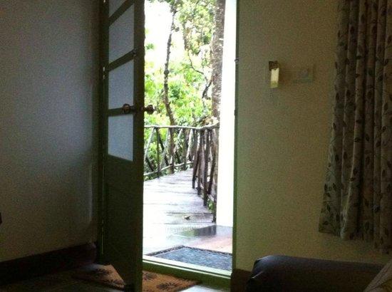 Aanavilasam Luxury Plantation House: Your personal suspended bridge