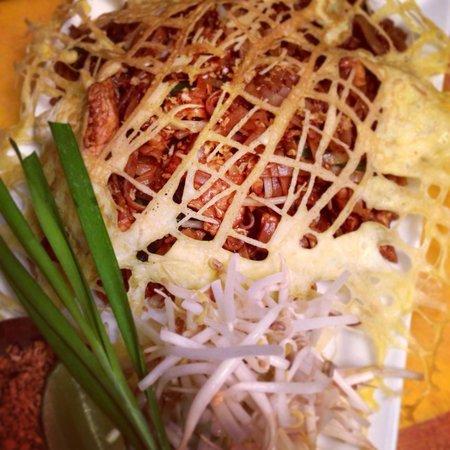 Pamika Brasserie Thai : Pamika golden padthai.