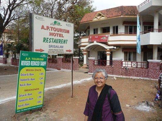 Haritha Srisailam: Restaurant