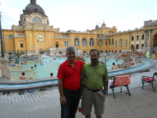 Széchenyi Baths and Pool : After bath