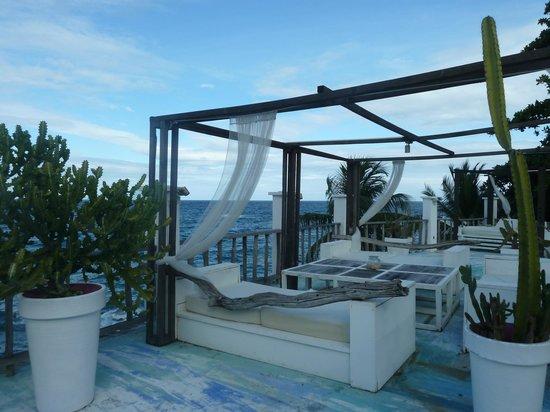 Bliss Hotel Seychelles : Espace à manger