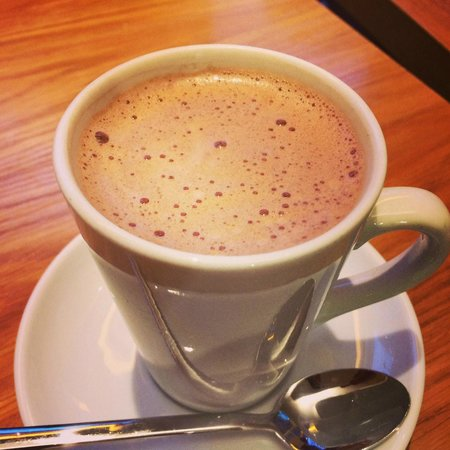 Chocolate Ecstasy Tours: One of the best hot chocolate from William Curley!