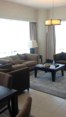 Nuran Marina Services Residences: Sitting room