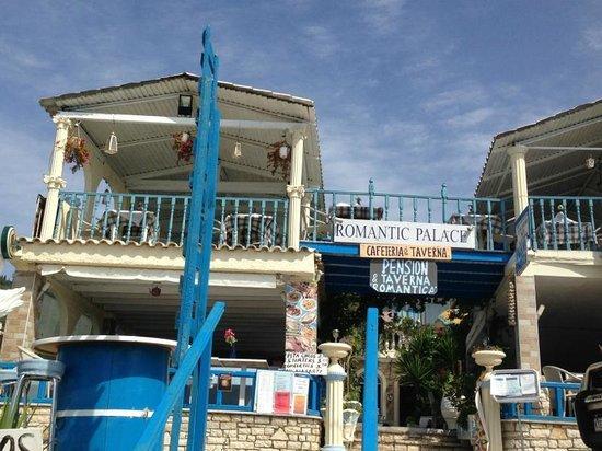 Mires House: Romantic Palace restaurant