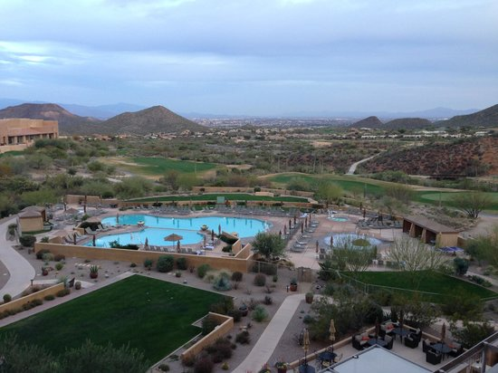 JW Marriott Tucson Starr Pass Resort & Spa : View from fifth floor room