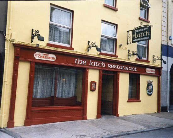 Tallow, Ireland: the latch restaurant, great quality food