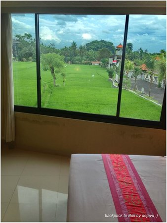 Puri Garden Hotel & Restaurant : Big windows and wonderful view  :)