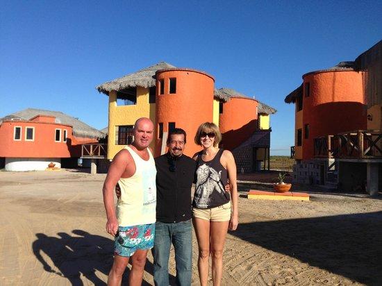 Hotel Villas Mar y Arena Ecotours : The hotel owner Fito Gonzalez