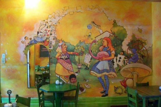 Madhatters Coffee Shop: MURAL 1