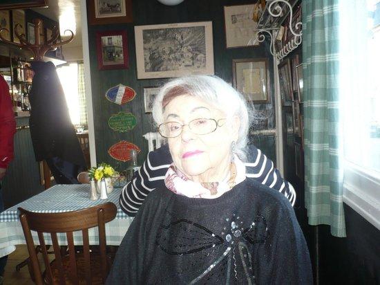 Le Vicomte: Mathilde (86 ans) a adoré bien qu'habituée aux restaurants étoilés