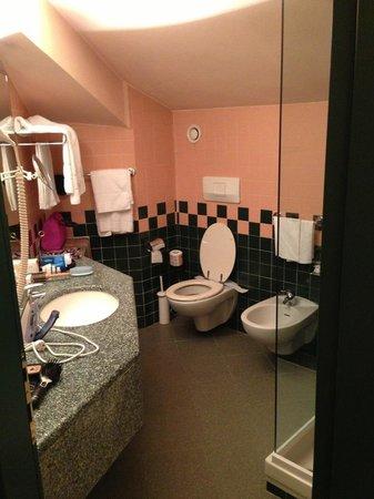 Best Western Antares Hotel Concorde: ванная