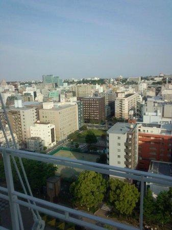 Yokohama Isezakicho Washington Hotel : 眺めよし