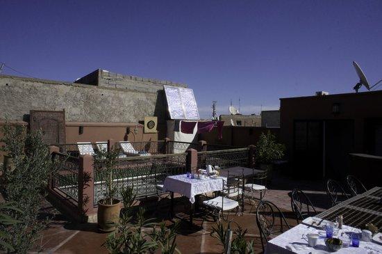 Riad Alnadine: Roof Garden