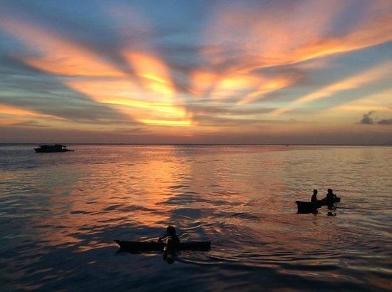 Big John Scuba : sunset