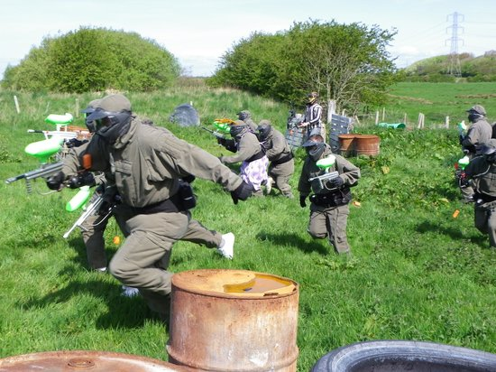 Image result for blackpool paintballing