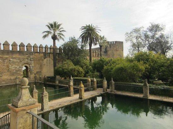 Alcazar de los Reyes Cristianos: сады и водоемы с рыбками