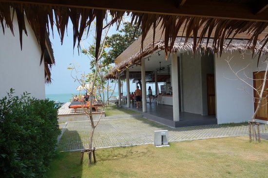 Escape Beach Resort Bar View From Bungalow S8