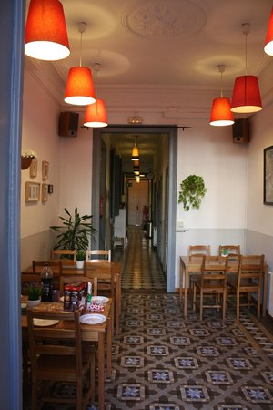 Soul Backpackers Barcelona: Blick ins Hostel